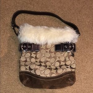 Coach with Fur